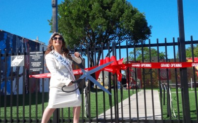 A Beauty Queen to Point Out Public Affair Issues in Wynwood