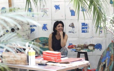 Time and Its Labors.  An interview with Isabela Muci