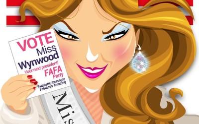 Miss Wynwood Opens Campaign Office in Wynwood