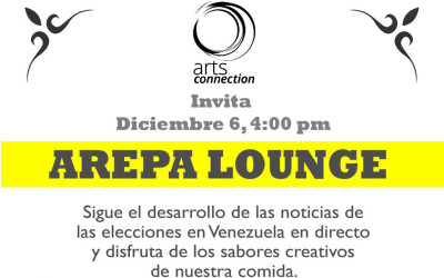 Arepa Lounge: A meeting point to follow Venezuelan Elections